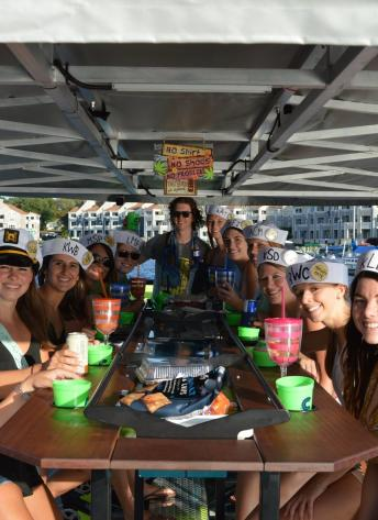Bachelorette Cycleboat Cruise