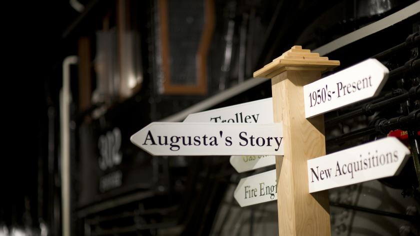 Augusta's Story Train