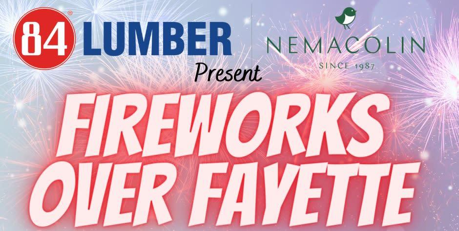 Fireworks Over Fayette