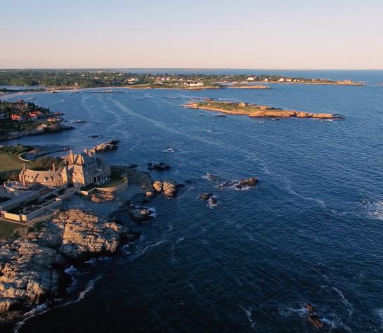 Cliff Walk Drone