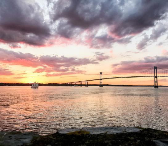 Summer Solstice Sunset Newport