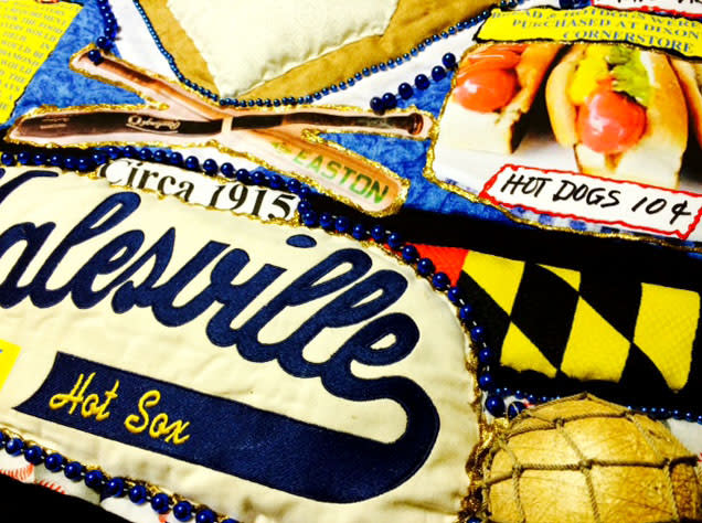 Galesville Hot Sox Quilt