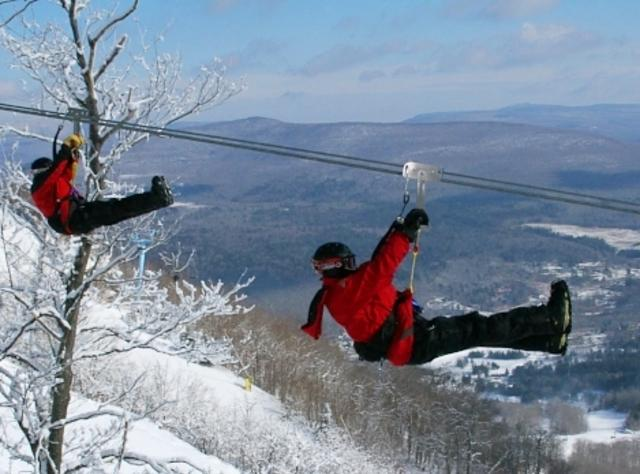 Zipline Canopy Tours at Hunter Mountain
