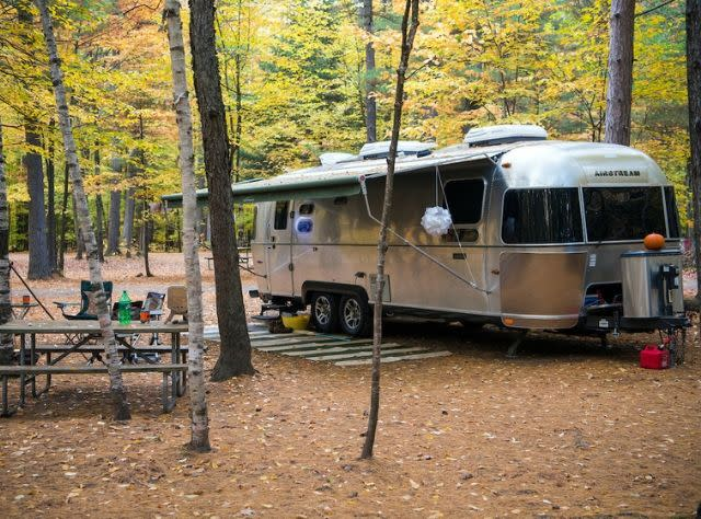Lake Placid/Whiteface Mountain KOA Campground - Fall