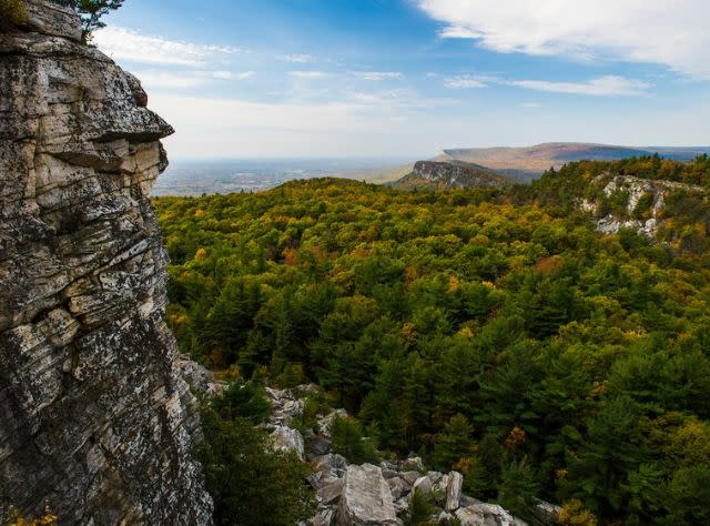 Shawangunk Ridge Escarpment - Fall