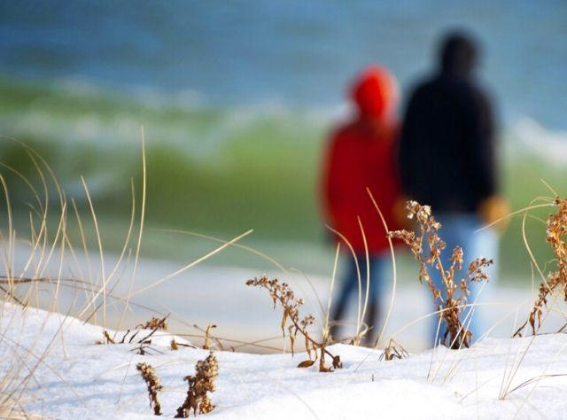 Winter Beach - Long Island