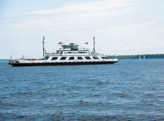 Cumberland Head / Grand Isle Ferry, Plattsburgh