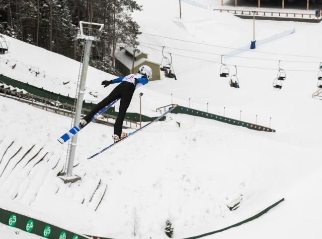 Empire State Winter Games - Ski Jumping at Olympic Jumping Complex