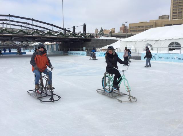 Ice Bikes of Buffalo - Photo Courtesy of Visit Buffalo Niagara