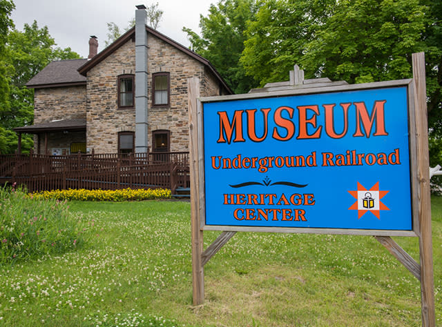 A photo of the exterior of North Star Underground Railroad Museum