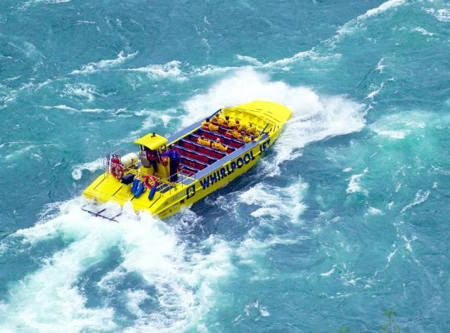 Whirlpool Jet Boat Rides on Niagara River