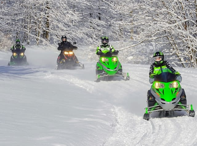 Snowmobiling in New York | Trails, Events and Races on hiking map, bear brook trail race, dogtown gloucester ma bike trail map,