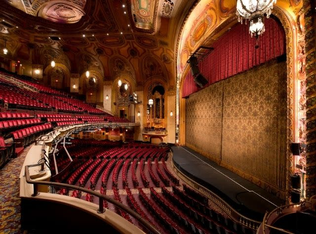 The interior of the Shea's Performing Arts Center
