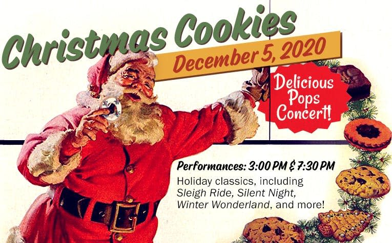 Christmas Cookies Concert poster
