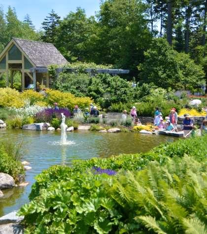 Coastal Maine Botanical Gardens Boothbay Harbor Maine MidCoast & Islands