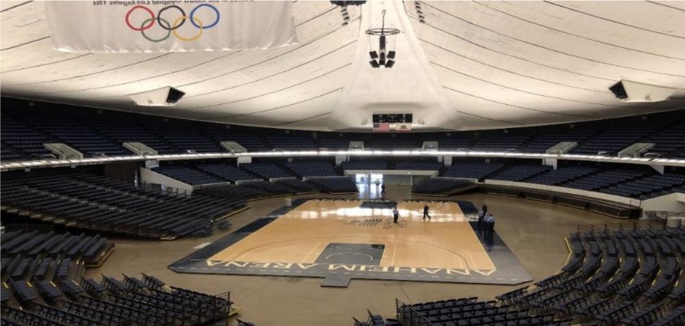 Anaheim Arena at the Anaheim Convention Center