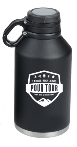Pour Tour Insulated Growler