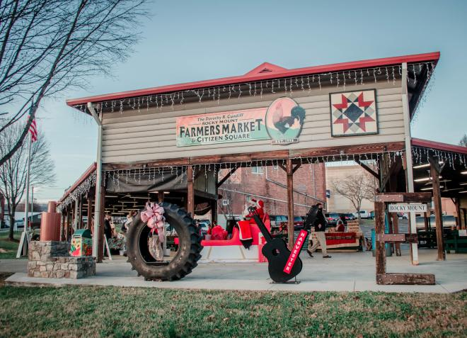 Rocky Mount, VA Farmers Market Sign