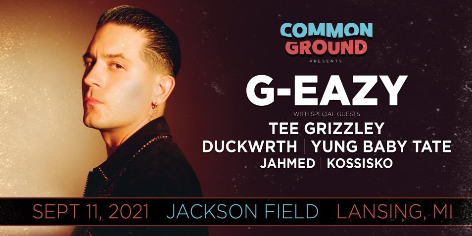 Common Ground 2021 G-EAZY