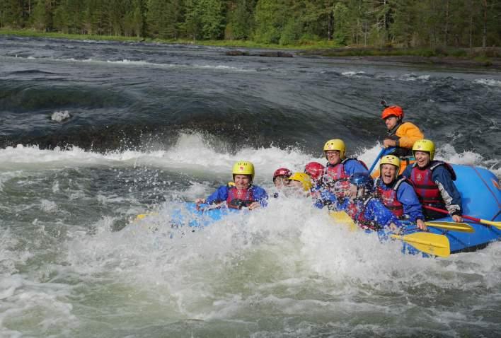TrollAktiv Rafting i Evje