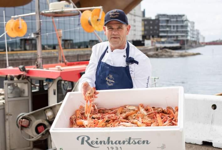 Førsteklasses sjømat hos Reinhartsen