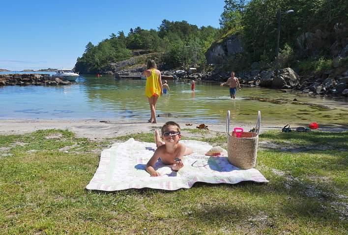 Badeplasser i Arendal kommune