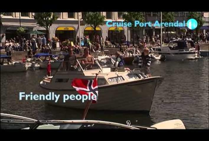 Cruise Port Arendal - presentation 2015 (english)