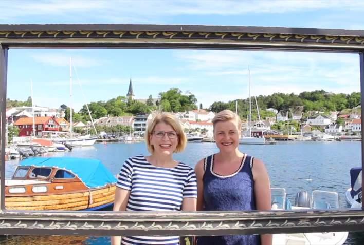 Grimstad gjestehavn film