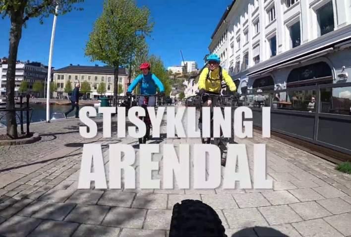 Stisykling i Arendal