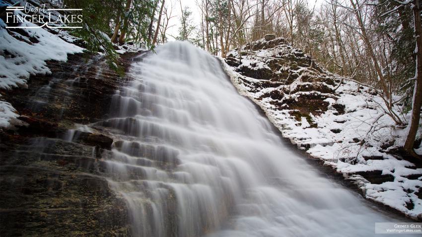 Grimes Glen in the Winter