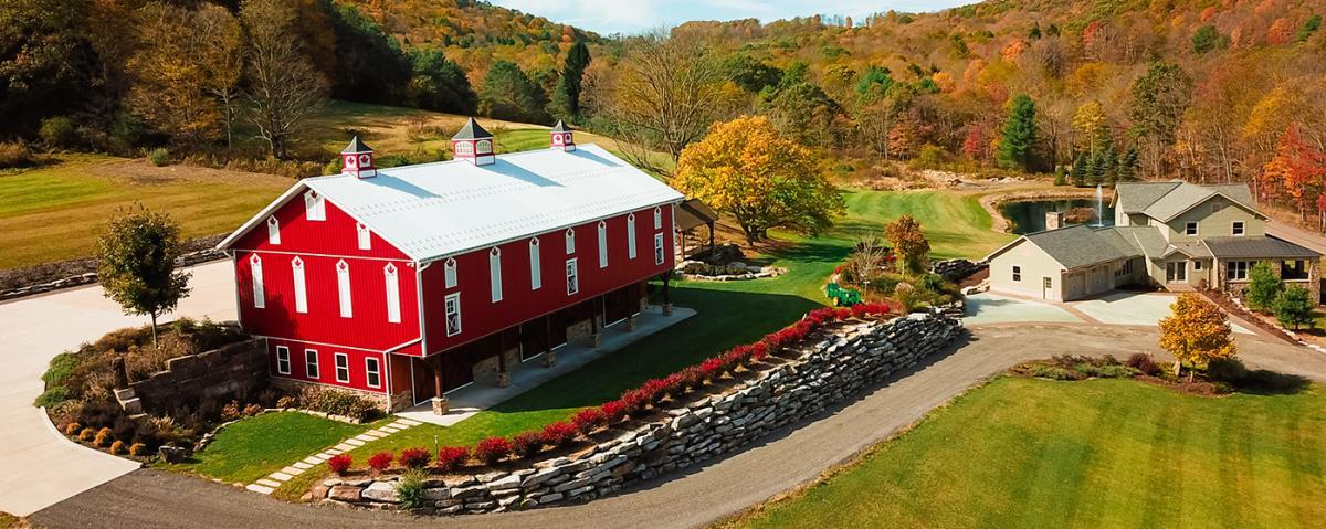 DTN - HI - The Barn at Maple Falls - Aerial