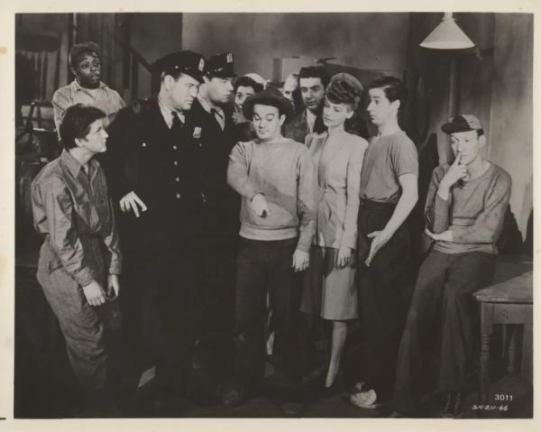 Ava Gardner and Ghosts on the Loose Cast in Promo Picture