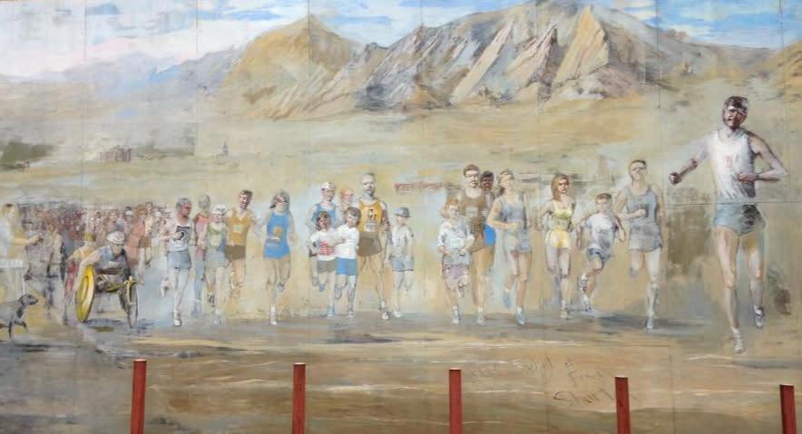 Running Mural