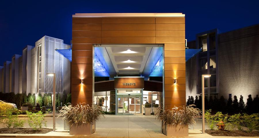 Weber's Hotel Exterior