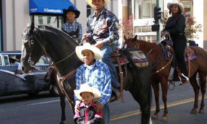 Black Cowboy Parade