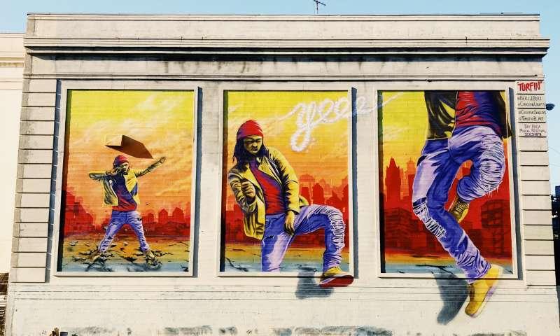 Turfin' Mural