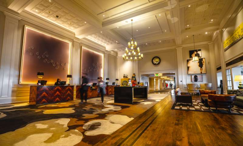 Claremont Hotel Club and Spa, a Fairmont Hotel lobby