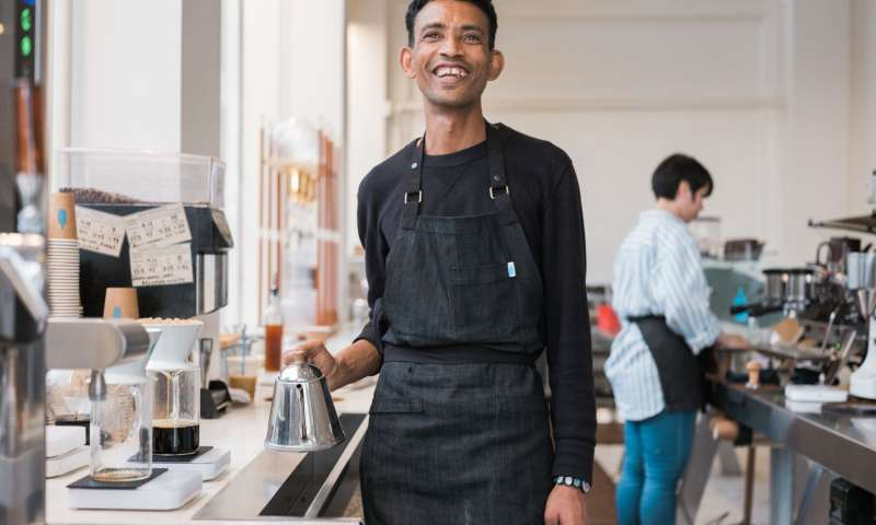 Blue Bottle Coffee Barista
