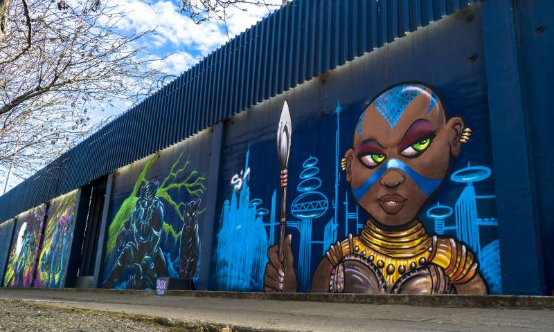 West Oakland Mural - Bode-Oakanda
