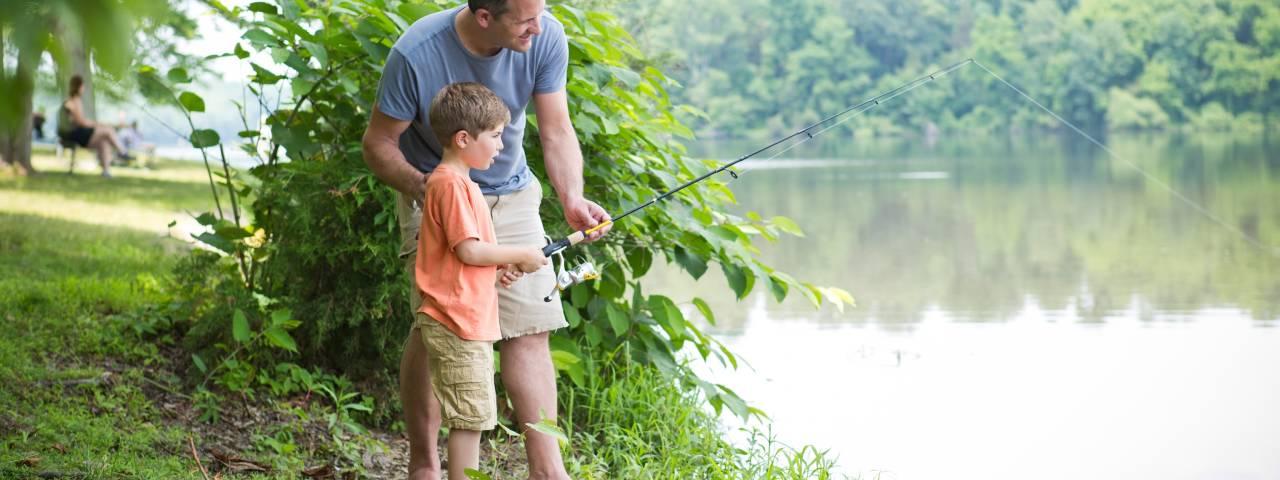 OUTDOOR ACTIVITIES - FISHING HEADER