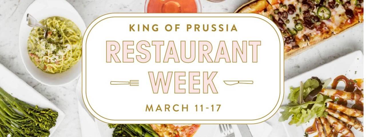 King of Prussia Restaurant Week 2019