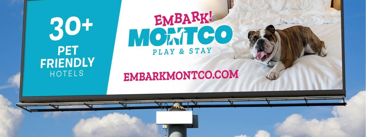 Embark Montco billboard