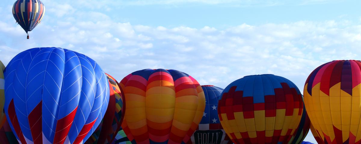 Balloon Fiesta Blog Header