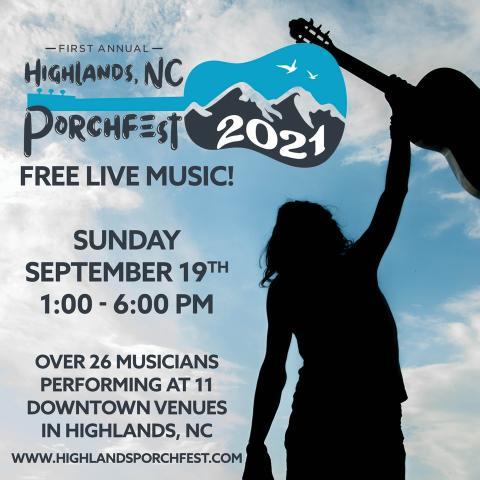 2021 Highlands, NC Porchfest