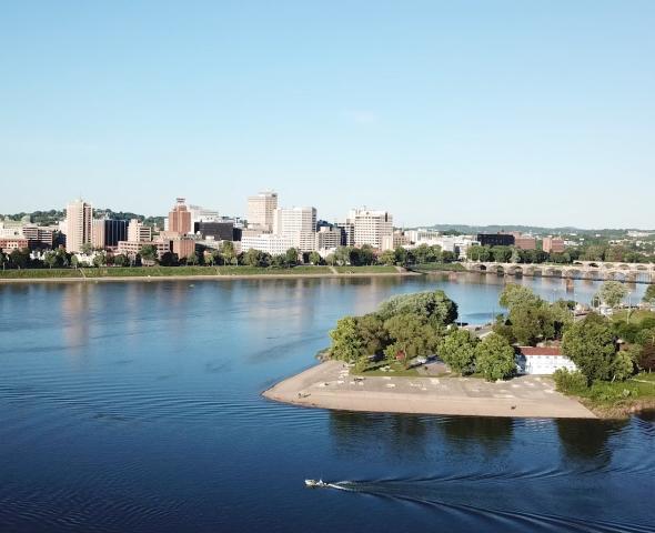 City Island Drone