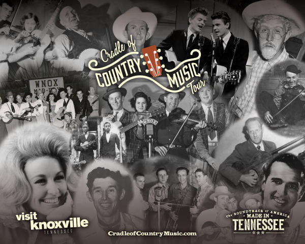 Cradle of Country Music - Mural