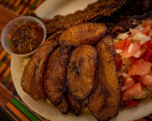 African food entrees