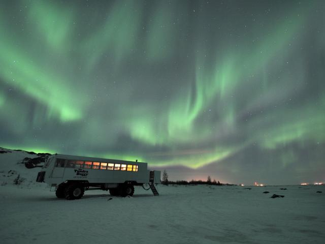 Mother Nature's Light Show at Frontiers North Adventures
