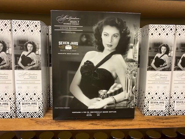 Ava Gardner Whiskey Boxes