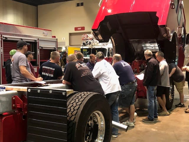 Spartan Fire Truck Chassis Group